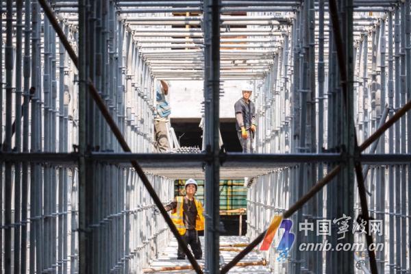 宁波工业互联网研究院产业园雏形初显