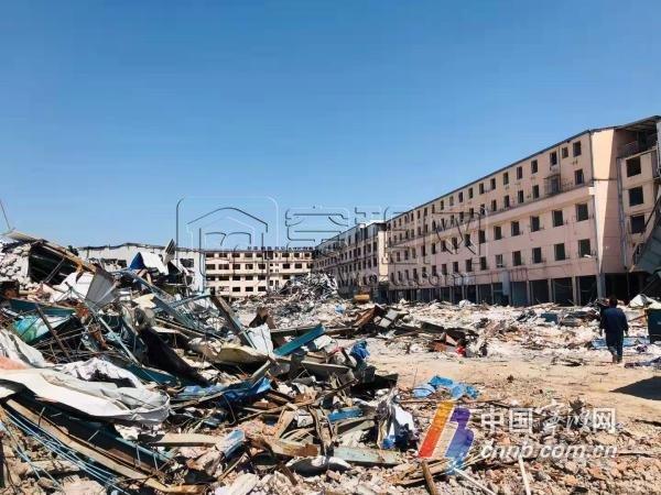 原桑家花鸟市场所有旧房已拆除 甬江时尚东外滩