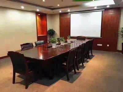 鄞州商会大厦110平米精装修办公室出租2隔间享免