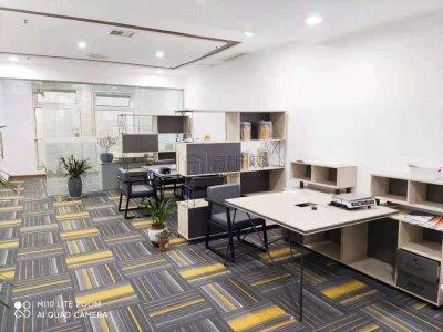 城市摩尔办公室79平米出租带隔间和全套家具