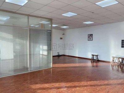 微软大厦154平米朝南精装修2个隔间出租