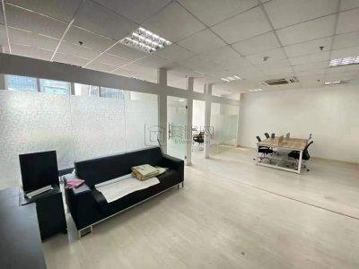 南部商务区3期鸿安大厦精装修96平米出租