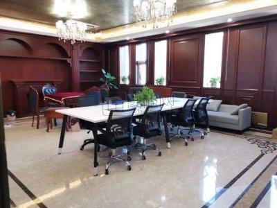 侨商大厦327平米精装修办公室出租