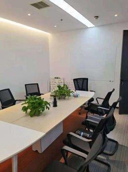 广博丽景中心186平方全新装修室内三个隔间➕ 一