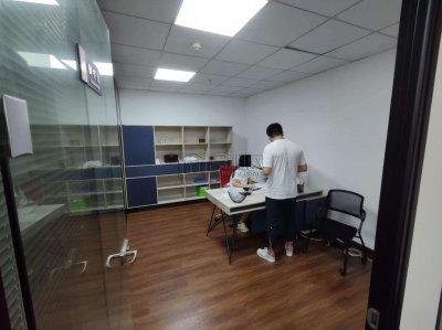 新府银座3号楼128.39平办公室转租
