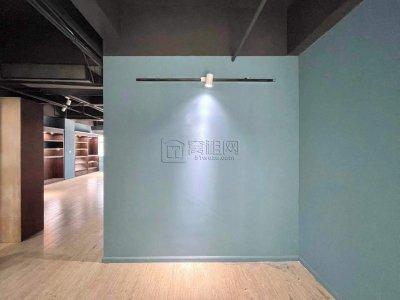 桑德兹150平写字楼形象墙+工业风装修出租